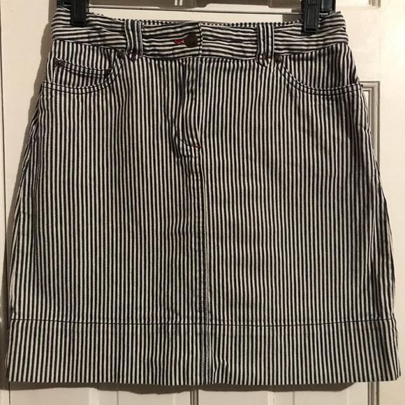 60ceac7ee7 Boden Dresses & Skirts - Boden Striped Denim Skirt